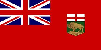 پرچم استان مانیتوبا