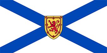 پرچم نوا اسکوشیا