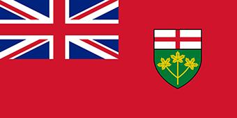 پرچم انتاریو